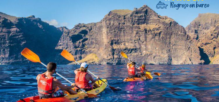 Nueva ruta en kayak de Teno Activo desde Los Gigantes a Masca