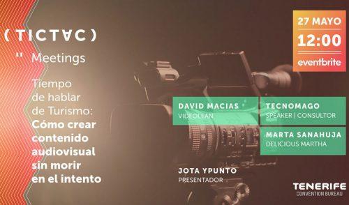 Celebrado el primer TICTAC Meeting online