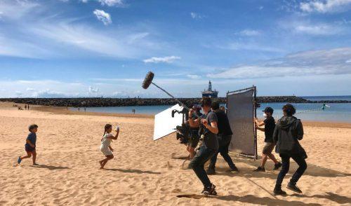 'Mil planetas', el anuncio rodado en Tenerife y dirigido en 'streaming' desde Alemania