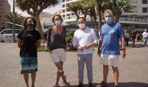 El Cabildo promociona la Tenerife Bluetrail a través de un corto protagonizado por Yaiza Guimaré, actriz de la serie 'Hierro'