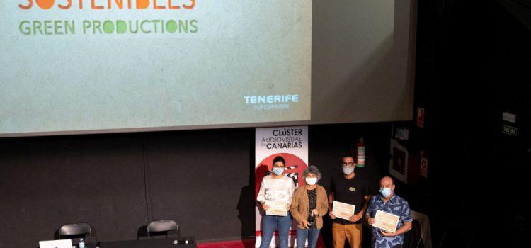 Tenerife Film Commission entrega sus tres primeros sellos de producción sostenible