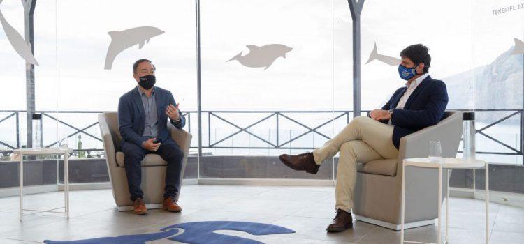 El Cabildo refrenda su compromiso con la sostenibilidad en el mar y recibe el HOPE Spot