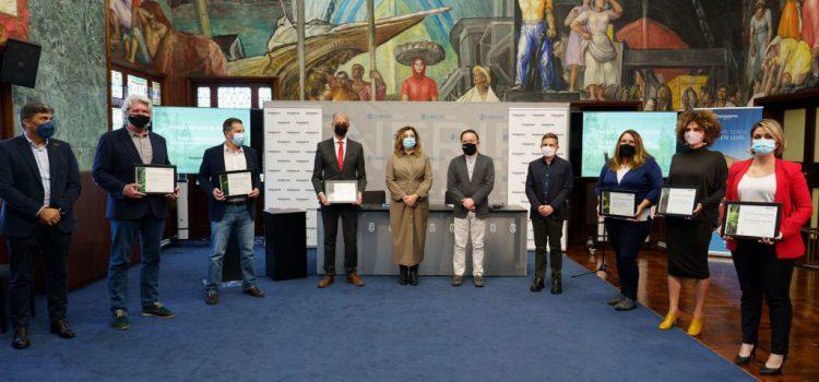 El Cabildo entrega los premios a las prácticas insulares de sostenibilidad en el Turismo
