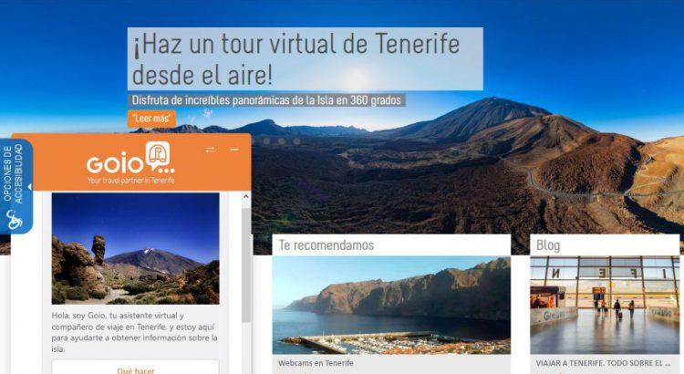 El asistente virtual de Turismo de Tenerife ya atiende consultas por voz en español e inglés