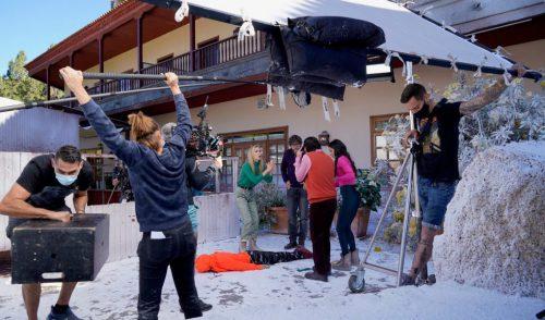 Los rodajes en Tenerife continúan a buen ritmo en verano