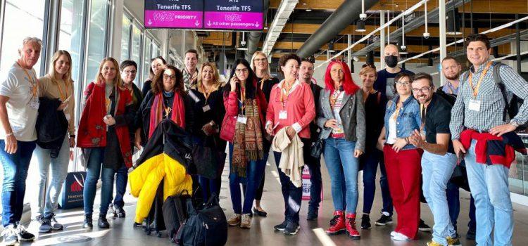 Tenerife recibe a una delegación de agentes de viaje  y periodistas de Hungría para promocionar el destino
