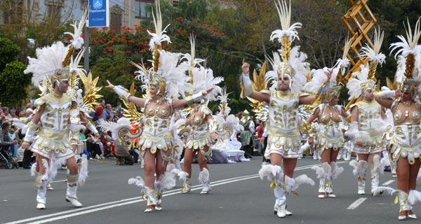 En el Coso Apoteosis del Carnaval de Santa Cruz de Tenerife