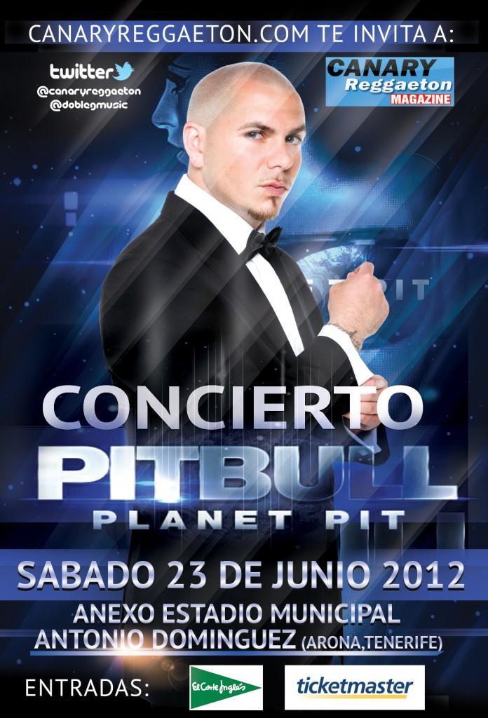 Concierto de Pitbull en Tenerife
