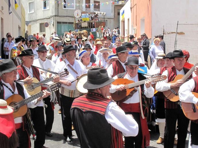 Romerías y Fiestas  en Tenerife en Mayo