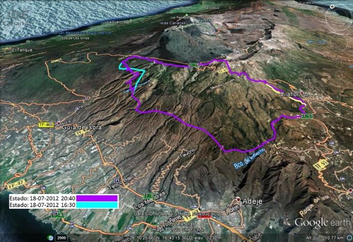 Últimas noticias sobre el incendio de Tenerife