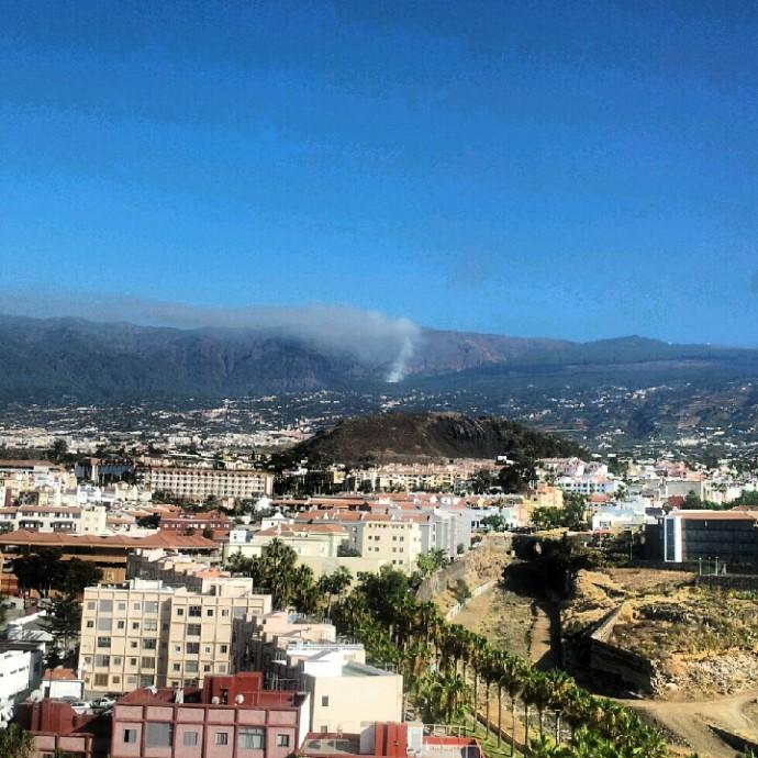 Incendios en Tenerife 2012 – Comunicado Turismo de Tenerife