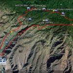 mapa incendio La Gomera
