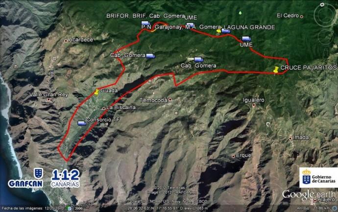 Incendio La Gomera – Información oficial
