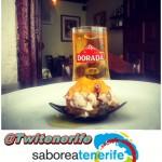 Tapa en el restaurante La Hierbita