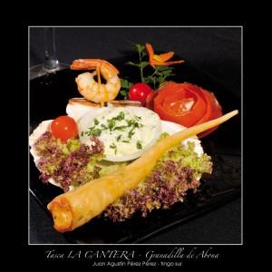 Tapa del restaurante La Cantera en Tenerife
