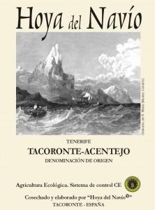 Vino ecológico de Tenerife – Hoya del navio