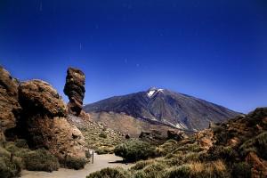 Miradores en el Parque Nacional del Teide