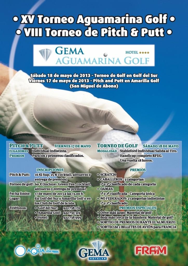 Torneo de Golf Aguamarina 2013
