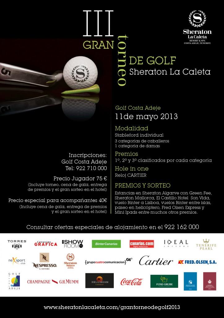 Torneo de Golf Sheraton La Caleta