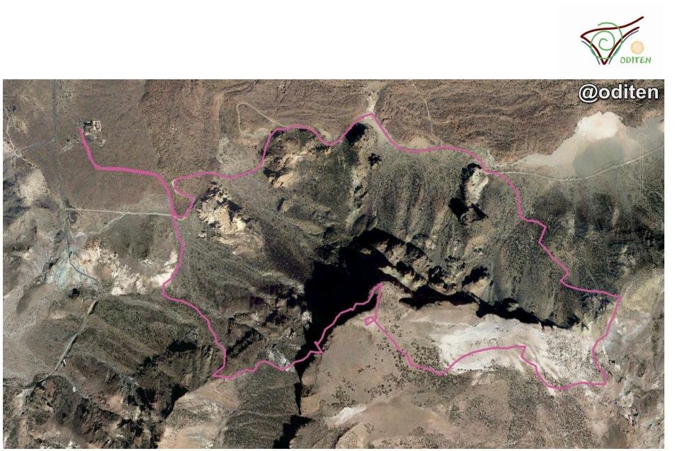 mapa-ruta- circular-desde-parador-del-Teide