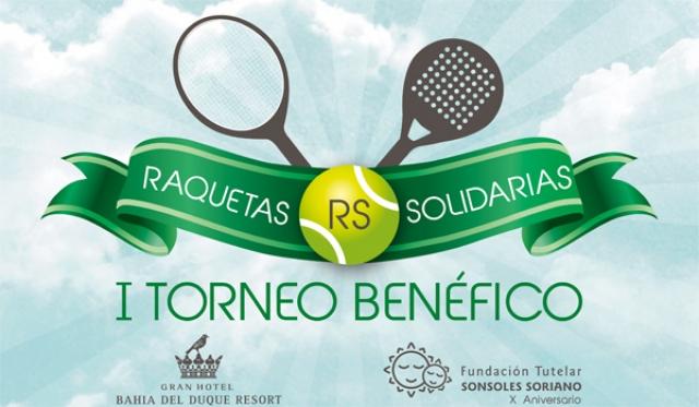 Torneo de Paddel y tenis Raquetas Solidarias en Tenerife