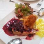 Queso-a-la-plancha-menu-ecologico-Restaurante-Plaza-Tenerife