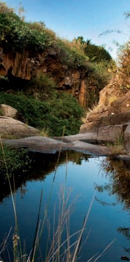 Sendero Barranco Agua de Dios en Tegueste