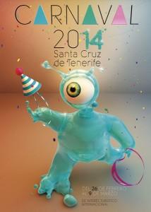 cartel-carnaval-tenerife-2014