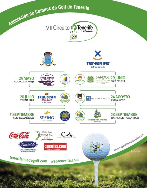VII Circuito Tenerife – La Gomera en Abama Golf