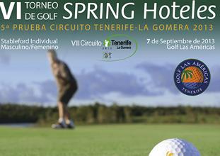 VI TORNEO SPRING HOTELES   5ª PRUEBA CIRCUITO TENERIFE-LA GOMERA 2013