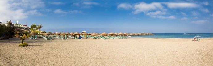 Playa Fañabe, Costa Adeje, sur de Tenerife
