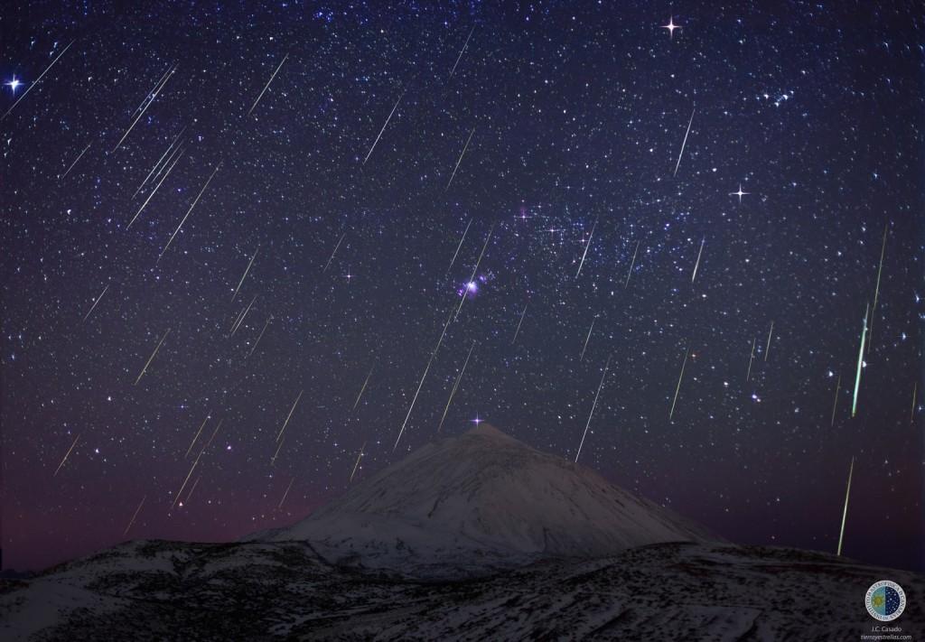 Geminidas_sobre_Teide