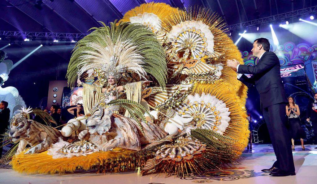 Cecilia Navarro, Reina del Carnaval de Tenerife 2016
