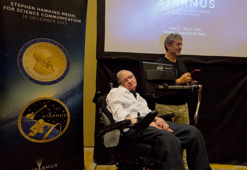 Anunciados los premiados con la Medalla Stephen Hawking