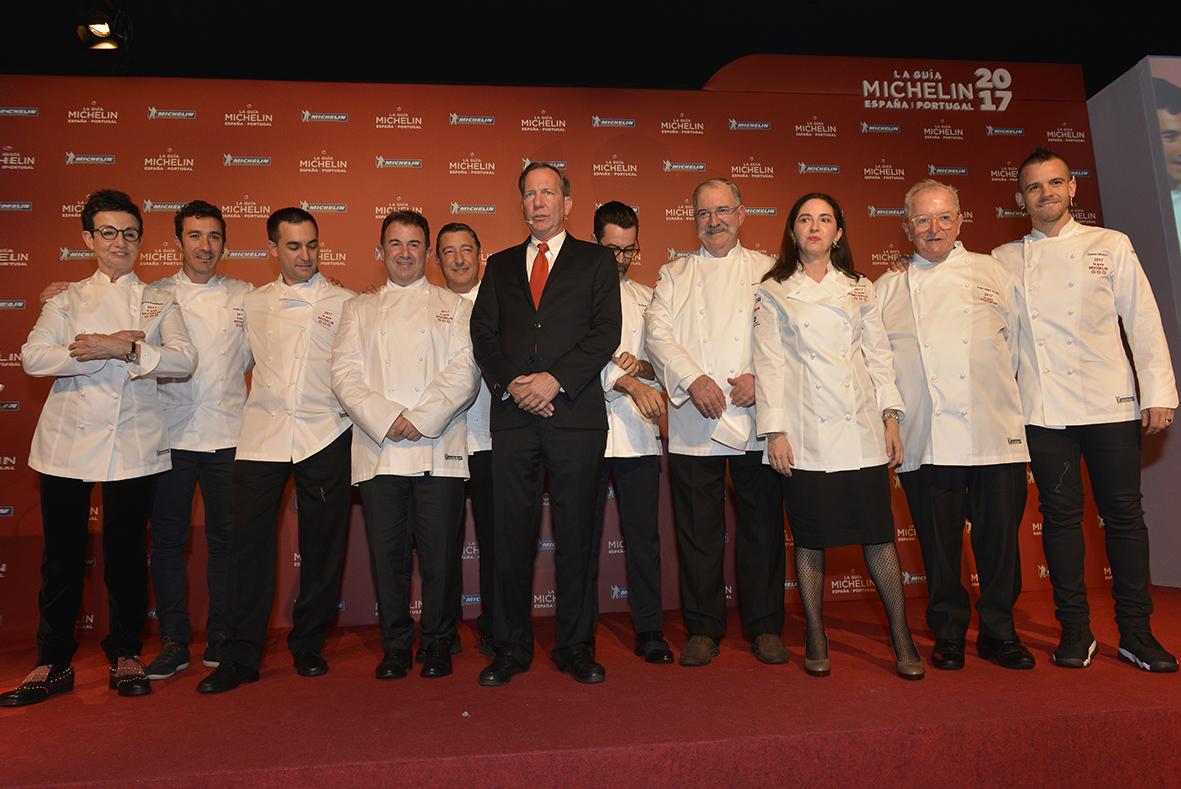 Tenerife acoge la Gala de la Guía Michelin 2018 y suma su sexta Estrella
