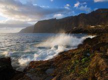 Los Gigantes olas