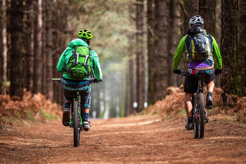 Ciclistas Ruta Mountain Bike Tenerife