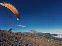 Despegue Parapente Teide