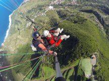 Selfie Parapente en Tenerife