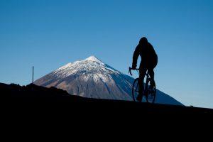 Teide ciclismo Tenerife nieve