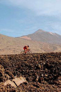 Cicloturista Vuelta al Teide