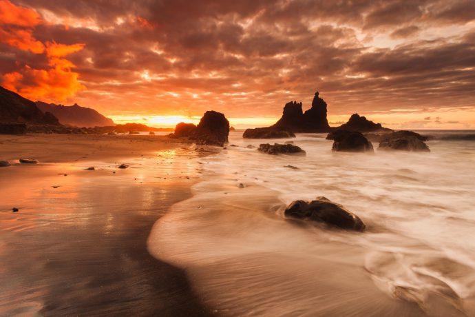 Playas De Tenerife Benijo
