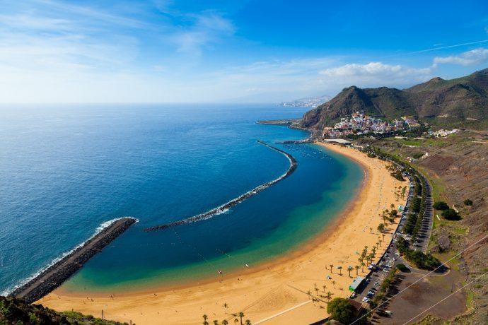 Playa De Tenerife Las Teresitas