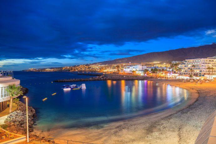 Playa De Tenerife La Pinta