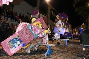 Carnaval Puerto de la Cruz 2019 Mascarita Ponte Tacón