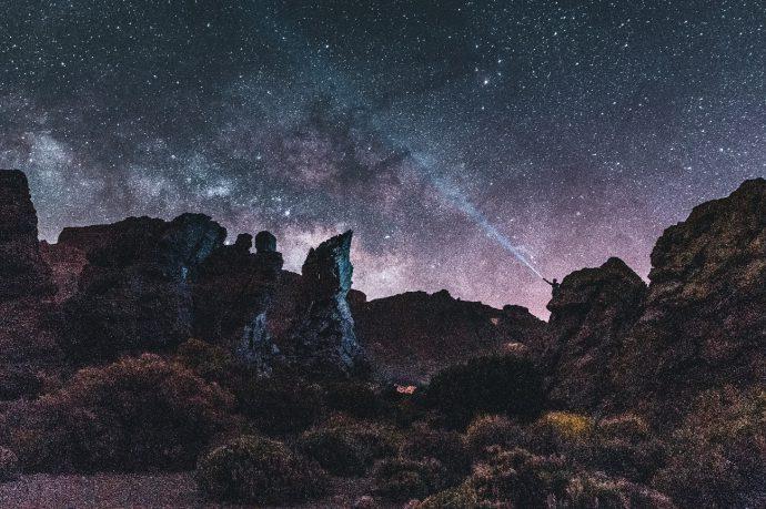 Experiencia estrellas en el Teide
