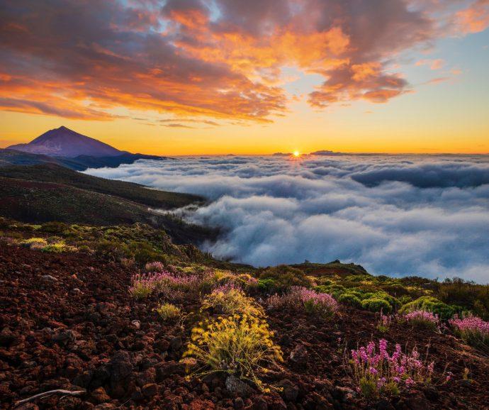 Experiencias en el Teide Nubes