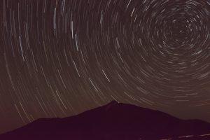 Cielo del Teide con Estrellas