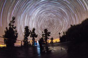 Estrellas en Tenerife