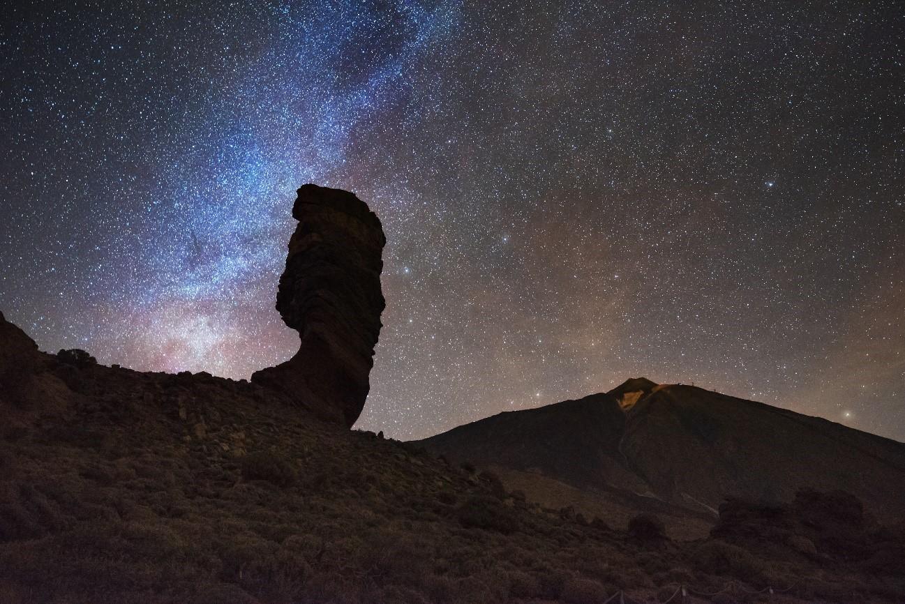 Los mejores lugares para observar estrellas en Tenerife